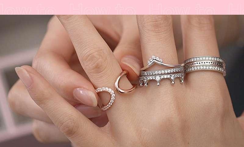 Poiščite svoj stil nizanja prstanov