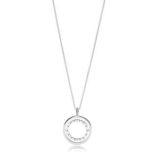 Ogrlica Pandora vrteča srca
