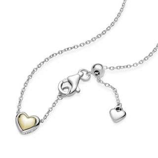Ogrlica z obeskom v obliki srca