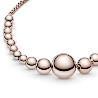 Zapestnica iz niza perlic z drsno zaponko