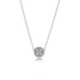 Ogrlica z brezbarvniki kubičnimi cirkoni