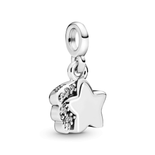 Viseči obesek Pandora Me z motivom zvezdnega utrinka