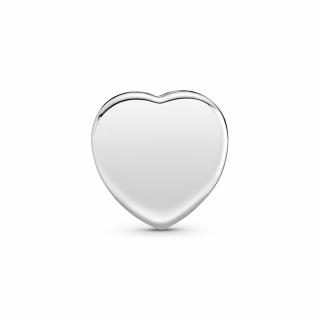 Obesek za pripenjanje v obliki srca v stilu pavé