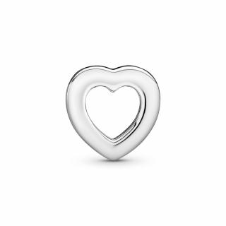 Obesek srca z logotipom Pandora