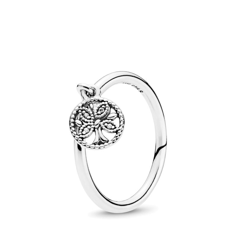 Pandora srebrn prstan Družinsko drevo