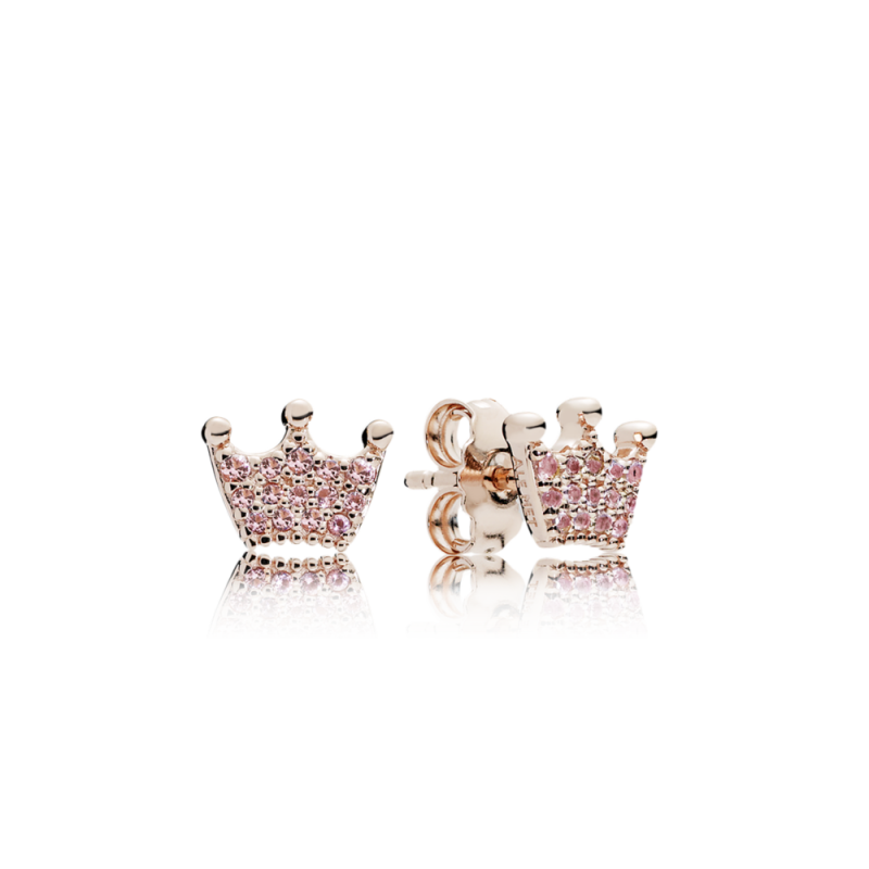 uhani PANDORA Rose krona