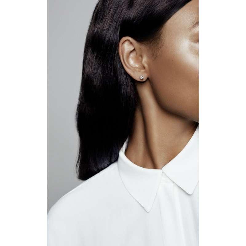 Srebrni uhani klasične kroglice