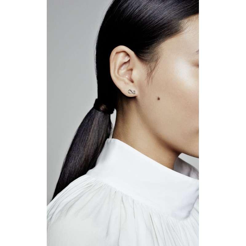 Viseči uhani s simbolom neskončnosti