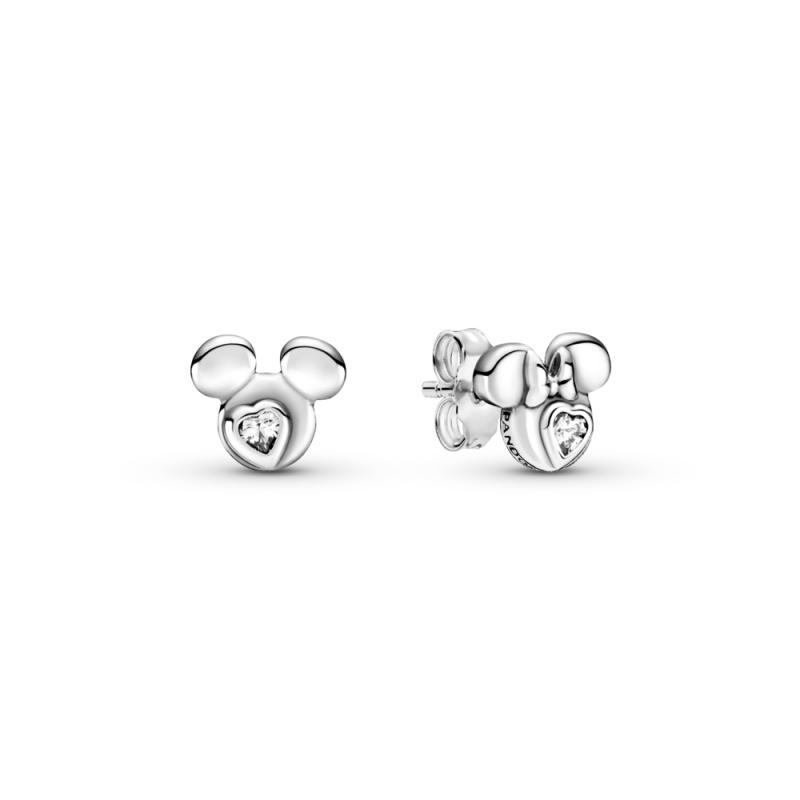 Uhani z Disney junakoma Miki in Mini Miško