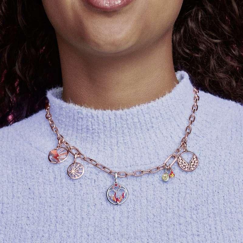 Ogrlica Pandora ME, členasta veriga