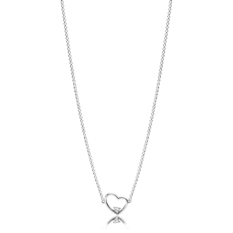 Ogrlica Asimetrična srca ljubezni