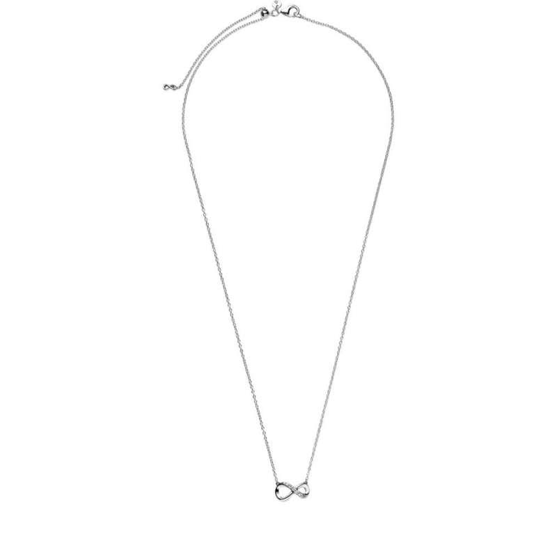 Ogrlica z obeskom s simbolom neskončnosti