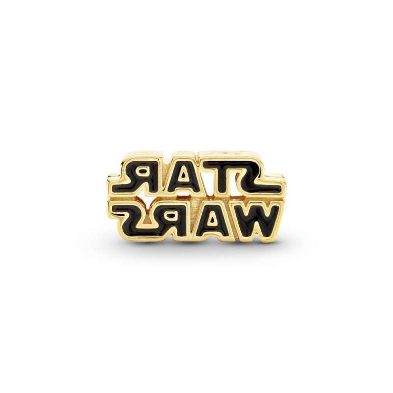 Obesek z pozlato s 3-D logotipom Vojne zvezd