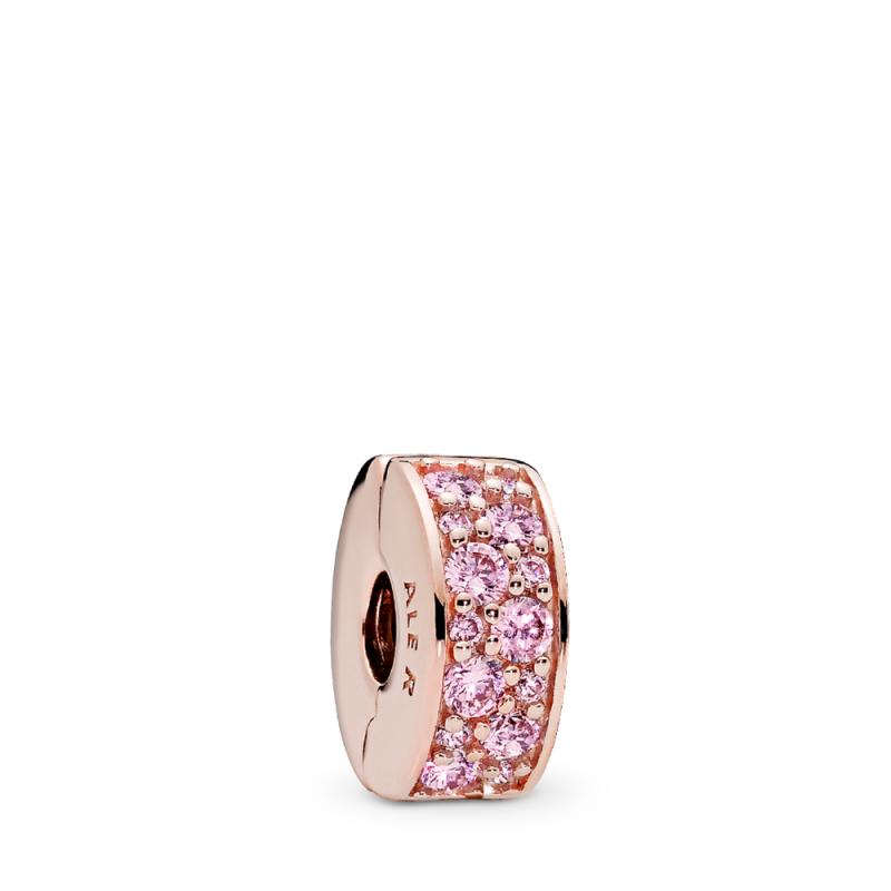 Rose sponka sijoča roza eleganca