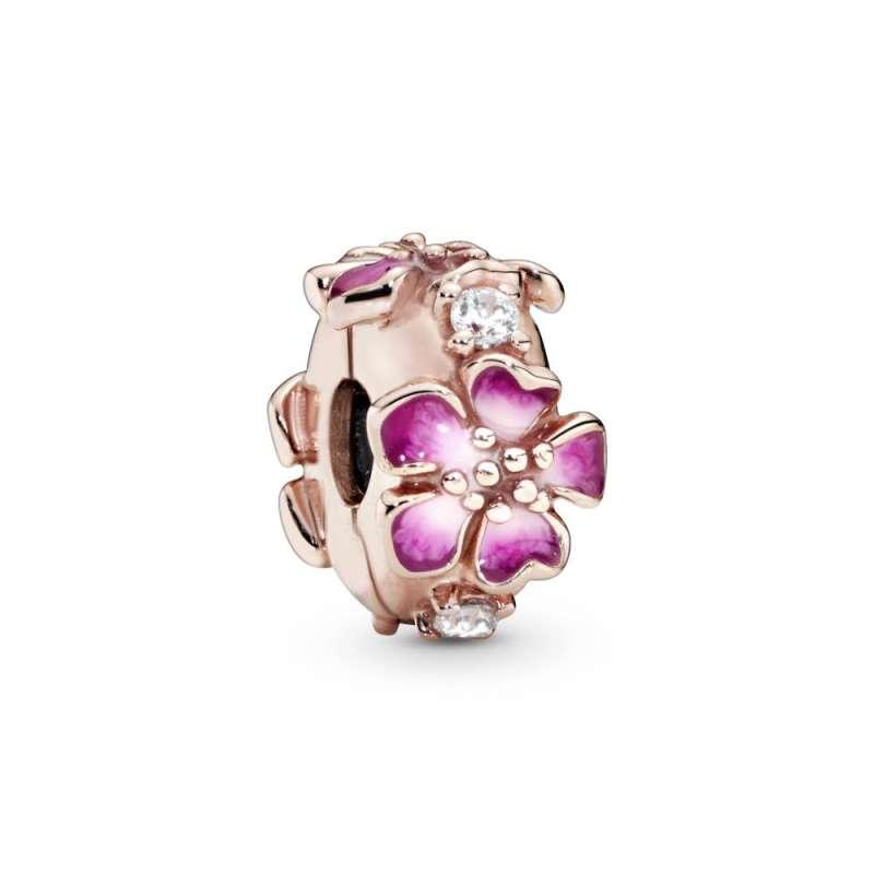 Pandora Rose sponka cvet breskve