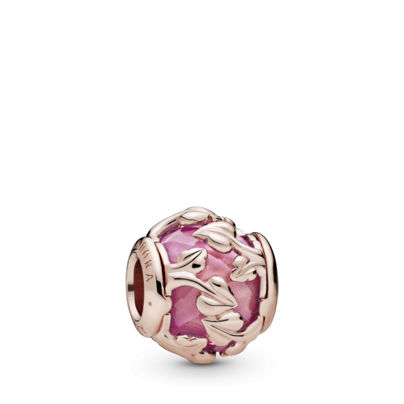 Obesek Dekorativni rožnati listi