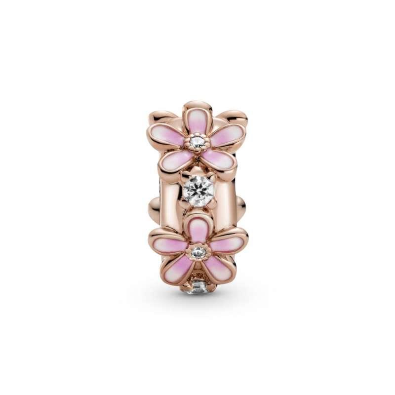 Sponka v obliki rožnate marjetice