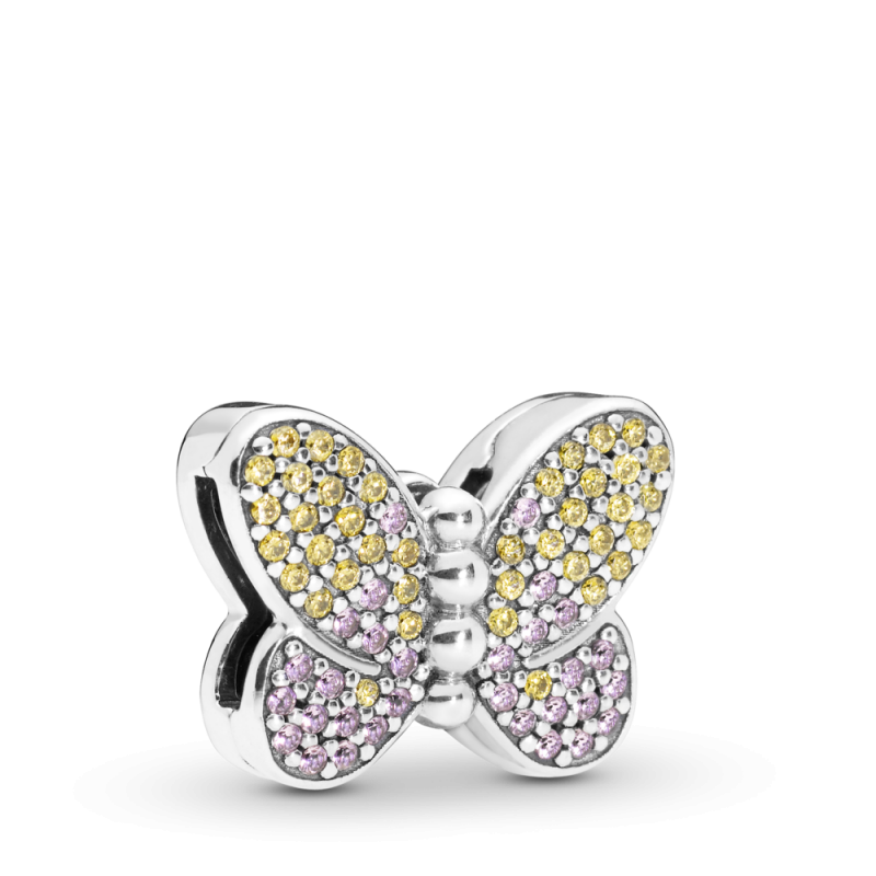 Obesek svetlikajoč metulj