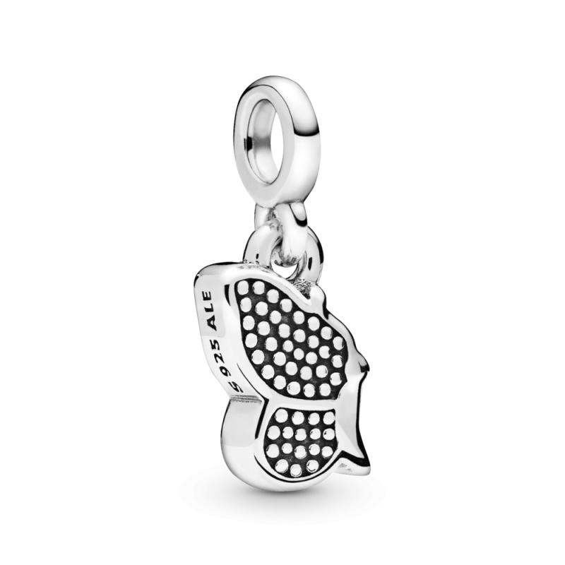 Viseči obesek Pandora Me z motivom metuljčka