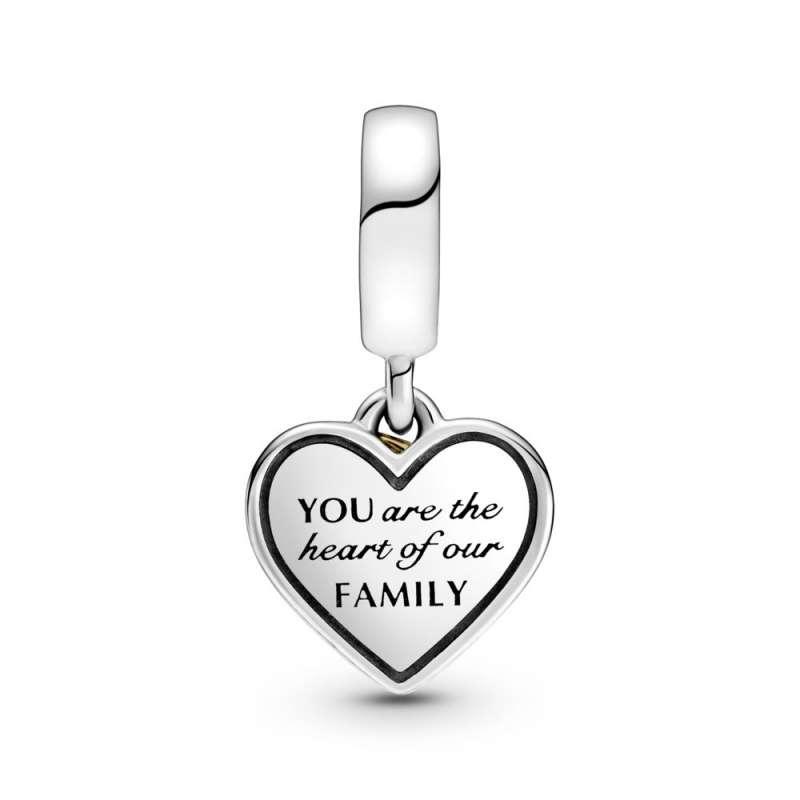 Obesek za mamo z motivom družinskega drevesa