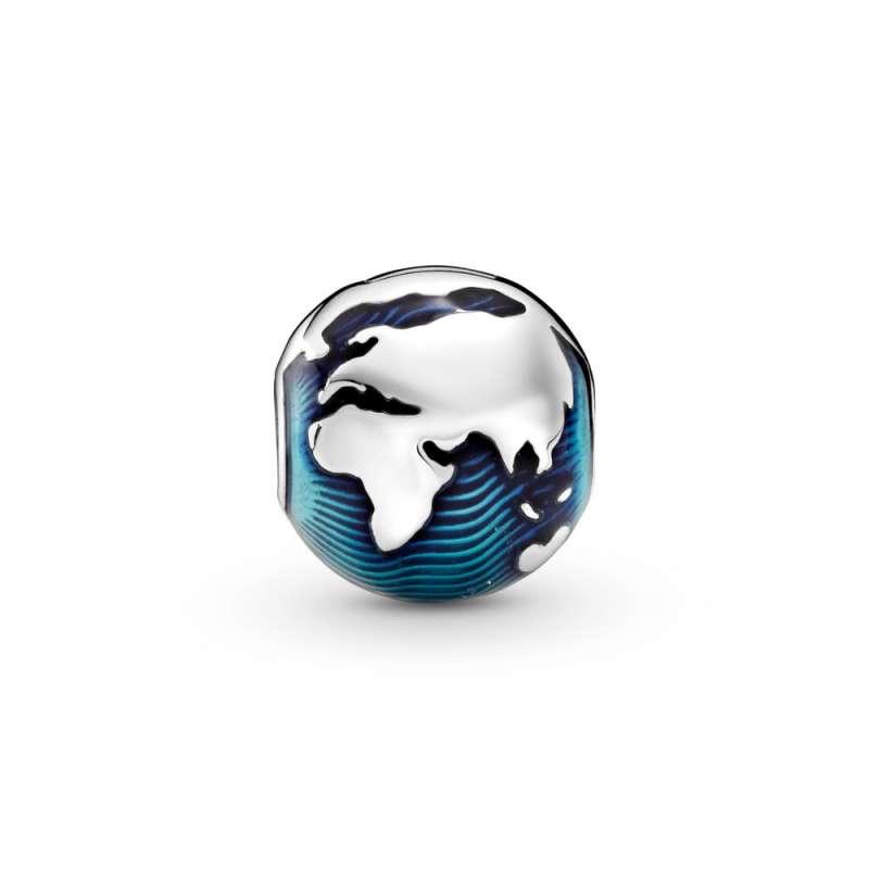 Sponka z modrim globusom